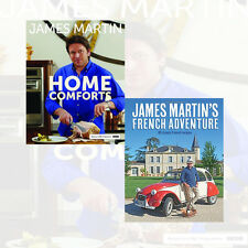 James Martin's French Adventure,Home Comforts Collection 2 Books Set New Hardcov