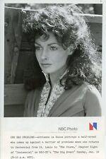 ADRIENNE LA RUSSA PRETTY PORTRAIT THE STORM CENTENNIAL ORIGINAL '78 NBC TV PHOTO