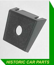 "1 Hole Black Plastic Under Dash Warning Light Mounting Bracket 1/2"" (13mm) hole"