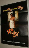 A1 Filmplakat ,VICKY,INGRID THULIN,THERESA ANN SAVOY