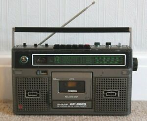 Sharp GF-8080 Portable Stereo/Ghetto Blaster