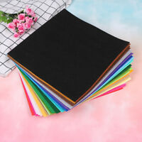 40 colors squares non-woven felt fabric sheets for DIY craft supplies LJ