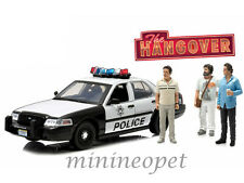 GREENLIGHT 12911 THE HANGOVER 2000 FORD CROWN VICTORIA POLICE w 3 FIGURES 1/18