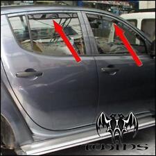 4 Deflettori Antiturbo Oscurati Mitsubishi L200 Double Cab 2006-2015 L 200