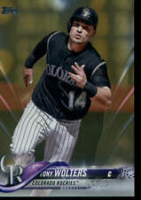 2018 Topps Gold #688 Tony Wolters 1138/2018 Rockies