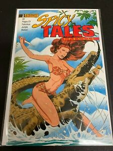 SPICY TALES SPECIAL #2 *VF+ (8.5)* (ETERNITY, 1989) GOOD GIRL ART!