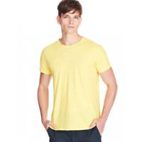 T-Shirt Ragno Tour de Cou 100% Coton Manche Courte