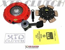 XTD STAGE 3 CLUTCH KIT + SLAVE for 2000-2004 FORD FOCUS 2.0L DOHC LX SE ZTS ZX3