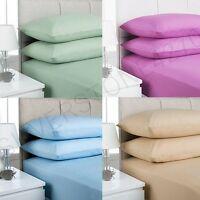 """Cotton Rich 16""""/40CM Extra Deep Fitted Bed Sheets Twin,Queen,King (Free P&P)"""