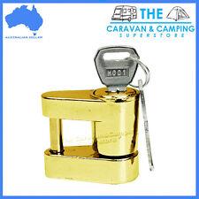 Coupling lock laser lock hitch lock trailer caravan camper anti-theft lock