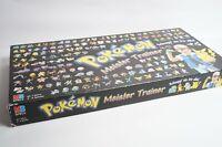 POKEMON MEISTER TRAINER komplett vollständig MB Hasbro