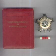 YUGOSLAVIA, Republic. Order of the People's Army with Silver Star with case