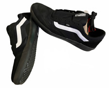 Vans (Ave Pro) Suede Black Skate Shoes Men's Size 10 New NIB Discontinued ⭐️