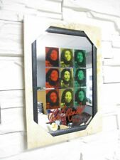 Bob Marley Wall Mirror, bar, Party Basement, bar, New, 30 cm,