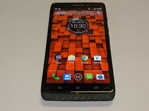 Motorola Droid Maxx XT1080 Verizon Wireless 32GB Black Smartphone/Cell Phone
