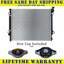 Radiator With Cap For Toyota Fits Tacoma 2.7 4.0 L4 4Cyl V6 6Cyl 2802WC
