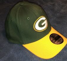 New w/Tags New Era Green Bay Packers 39Thirty Hat Strecth Fit Size:Med/Lrg