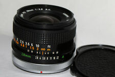 Canon FD 28mm f/2.8 S.C. Wide Angle Lens in Excellent Condition