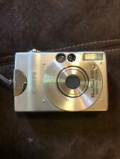 Canon PowerShot Digital ELPH SD1000 Digital Camera - Silver with Case + Charger