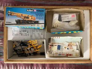 Kibri Crane 19600 & Mill Parts Pola Faller Assorted Decals Stickers  N Guage