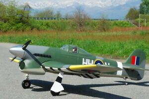 Hawker Typhoon  68 inch Giant Scale RC AIrplane Printed Plans & Templates