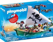 PLAYMOBIL Pirates Piratenschiff bunt  ab 4 Jahren 102 Teile Piraten Schiff Boot