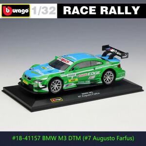 BBURAGO 1:32 BMW M3 DTM #7 Racing DS WRC rally car alloy model