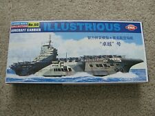 EKA Models 1:2000 Navy Collection #08 Aircraft Carrier ILLUSTRIOUS Gray Plastic