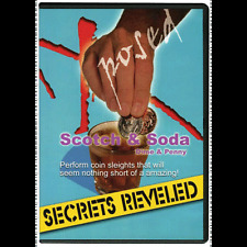 Scotch & Soda Dime & Penny Trick Magic Secrets Revealed Dvd