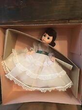 "MADAME ALEXANDER Scarlett O`Hara Doll from ""Gone with the Wind"" 7"" Style# 425"