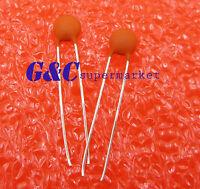 100Pcs Nouveau 1uF 105 50 V monolithique Ceramic Chip Capacitor Neuf