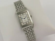 JAEGER LeCOULTRE  REVERSO 252.8.47 CLASSIC STEEL WATCH