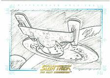 Quotable Star Trek Next Generation TNG Chris Bolson USS Enterprise Sketchafex #3