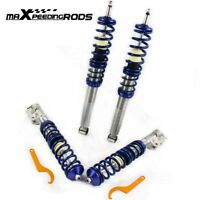 Coilover For VW Golf 2 MK2 MK3 Vento Corrado Adjustable Suspenion Shock Absober