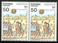 SPAIN - SPAGNA - 1989 - U.P.A.E. (Unione Postale America-Spagna)