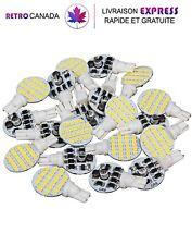 20x ampoule LED super lumineux 921 194 T10 12V,pour plafonnier/bateau blanc doux