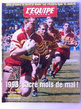 L'Equipe Magazine du 16/05/1998; Saga Nigéria/ Alewin et les perpignanais/ Desai