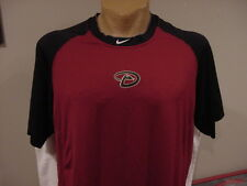 SWEET Arizona Diamondbacks Nike Pro Combat Adult 2XL Red Dri-Fit Shirt, NICE!