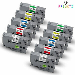 10x Kompatibel TZe-231-731 12mm Schriftband für Brother P-touch PT-H100LB 1010