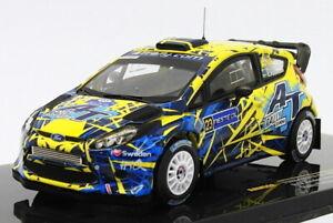 Ixo 1/43 Scale RAM552 - Ford Fiesta RS WRC - #23 Finland 2013