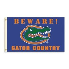 "Florida Gators ""Beware Gator Country"" 3x5 Polyester Grommeted Flag"
