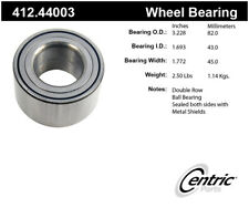 Wheel Bearing-ELECTRIC, FWD Front,Rear Centric 412.44003