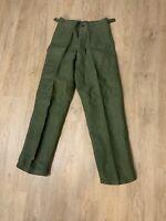 Vintage WW2 / Korea Era OG-107 Sateen Fatigue Pants VINTAGE