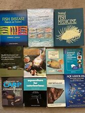 Aquatic Veterinary Medicine Books Collection Fish Diseases Ornamental Pathology