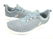ASICS WOMEN'S GEL-FIT SANA 4 RUNNING SHOES,STONE GREY/FROSTED ROSE, US SIZE 9.5