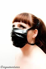Latex/caoutchouc medical/Masque Chirurgical En Noir