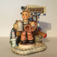 "Humme l#2093 ""The Pretzel Boy"" - Bavarian Bier Garten Scape - Mark 1016-D - MIB"