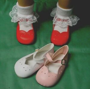 "Monique 98mm White Girl Dress Shoes fit 23"" My Twinn Poseable"