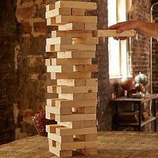 $200 Refinery CLASSIC Jumbo LARGE VINTAGE WOOD BLOCK TOWER Stacking Game
