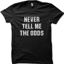 Never tell me the odds Han Solo Star Wars printed t-shirt 9020